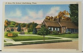 Gatlinburg Tennessee Pi Beta Phi School Postcard F19 - $9.95
