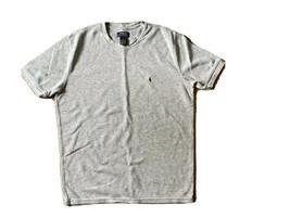Polo Ralph Lauren Waffle Knit Thermal Short Sleeve T-Shirt - Size XL Gray - $11.30