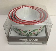 """Farberware Classic Measuring Cups Set-Holly Design-""""HOME SWEET HOME""""SHIP... - $39.48"""
