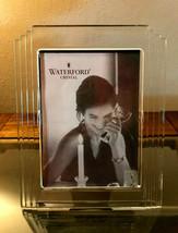 """Rare Waterford Crystal """"Metropolitan"""" Art Deco Frame 5 x 7"""" Photo Size PGA Tour  - $49.99"""
