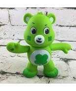 "2020 Care Bears Good Luck Bear 5"" Interactive Talks Green Unlock The Magic - $34.64"