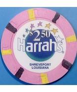 $2.50 Casino Chip. Harrahs, Shreveport, LA. W07. - $4.99