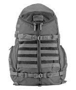 Tactical Half Shell Backpack URBAN GRAY Open Cage Survival Pack Hiking C... - £47.69 GBP