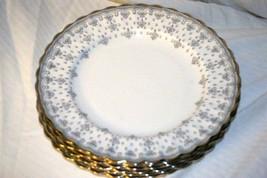 Copeland Spode Fleur de Lys Grey  Salad Plate - $11.77