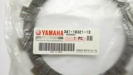 Yamaha 341-16321-13 Friction Plate Pack of 2 New image 2