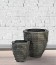 Monterey Wicker Round Planter Set - $59.95