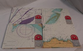 Authentic Models Nautical Sea Chart Log Book Stationary - Excellent Cond... - $9.90