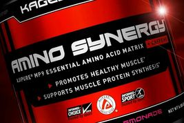KAGED MUSCLE  AMINO SYNERGY Supports Muscle Protein Raspberry Lemonade w... - $24.77
