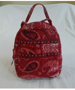 Vera Bradley Mesa Red Lined Lunch Cooler - $19.57