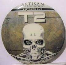 T2 Terminator 2 pinback-1991-EX - $5.00