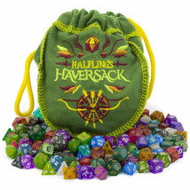 Halfling's Haversack, 140 Mini Polyhedral Dice - $39.35