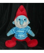 "16"" BIG BUILD A BEAR PAPA SMURF THE SMURFS HOODIE STUFFED ANIMAL PLUSH T... - $18.70"