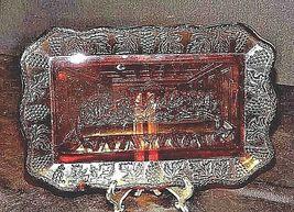 Amber Last Supper TrayAA18-1322 Vintage image 5