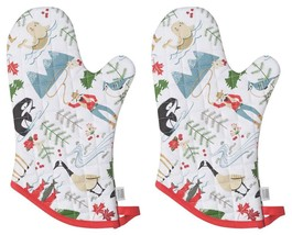 Now Designs Basic Oven Mitt, Set of Two, True North - $26.51