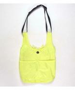 Lululemon Athletica Yoga Gym Workout Bag Shoulder Tote Highlighter Yello... - $48.50
