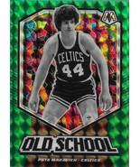Pete Maravich Mosaic 19-20 #17 Old School Green Mosaic Prizm Boston Celtics - $2.75
