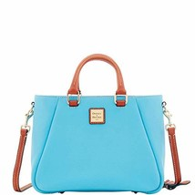 Dooney & Bourke Pebble Grain Small Top Zip Satchel