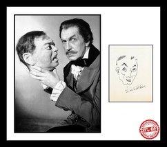 Ultra Rare - Vincent Price - Horror Legend - Authentic Hand Signed Autog... - $199.99