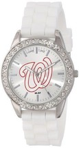 """GAME-MLBFROWAS-Game Time Womens MLB-FRO-WAS """"Frost"""" Watch - Washington National - $33.37"""