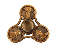 US Cent Brass Copper Fidget Spinner - One Spinner with Random Color and Design image 3