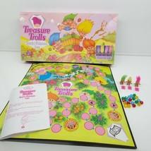 Treasure Trolls Search For The Wishstones Game Troll Pressman 1992 Board... - $14.75