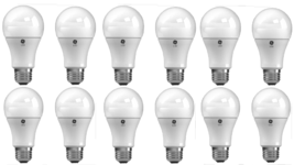 GE LED 60w Soft White 12 Bulbs Lighting Dimmable 2700K A19 Light Bulb 80... - $37.23