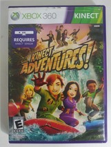 'Kinect Adventures XBOX 360 Video Game pre-owned - $2.70