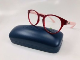 New LACOSTE KIDS L3910 526 Cyclamen & Pink  Eyeglasses 46mm with Case - $64.30