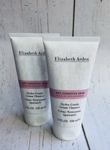 Elizabeth Arden Hydra-Gentle Cream Cleanser For Dry/Sensitive Skin 5oz Lot Of 2 - $44.55