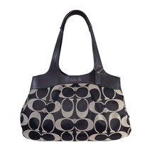 COACH F18828 Signature Lexi Bag in Black & Gray - $95.00