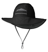Outdoor Research Kids' Voyager Rain Hat, Black, Large - $50.00