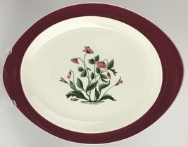 Wedgwood Mayfield Ruby Oval Serving Platter (Sku Ec 224) Free Shipping - $50.00