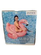Flamingo Ride On Pool Float Toy Kids Adult Lounge Raft Outdoor Swim Wate... - $55.97