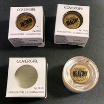 Lot of 3 Covergirl Vitalist Healthy Glow Highlighter, 6 Daybreak, 0.24 Ounces - $7.00
