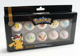 Never Used Open Box - 2017 Pokemon Special Edition 10 Pack Mini Ornament... - $22.49