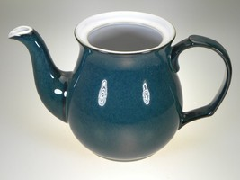 Denby Greenwich Teapot NO LID New With Tag Made in England - $38.67