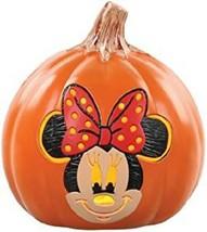 "Disney Minnie Mouse Halloween Orange 6"" Light up Pumpkin  - $15.83"