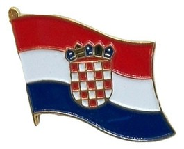 Croatia Flag Hat Tac or Lapel Pin - $6.84