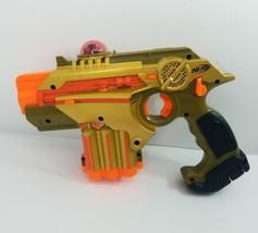 Nerf Tiger Electronics Lazer Tag Blast Gun Phoenix LTX Gold  - $29.92