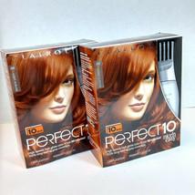 2 - Clairol Perfect 10 Light Auburn 6R Hair Color Discontinued Nice 'n E... - $31.68