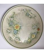"Lot Of 7 Vintage Temper-Ware By Lenox Floral Fantasy Dinner Plates 10 1/4"" - $69.29"