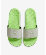 Men's Nike Benassi N7 Slide Athletic Sandals, CV0267 001 Multi Sizes Aur... - $49.95