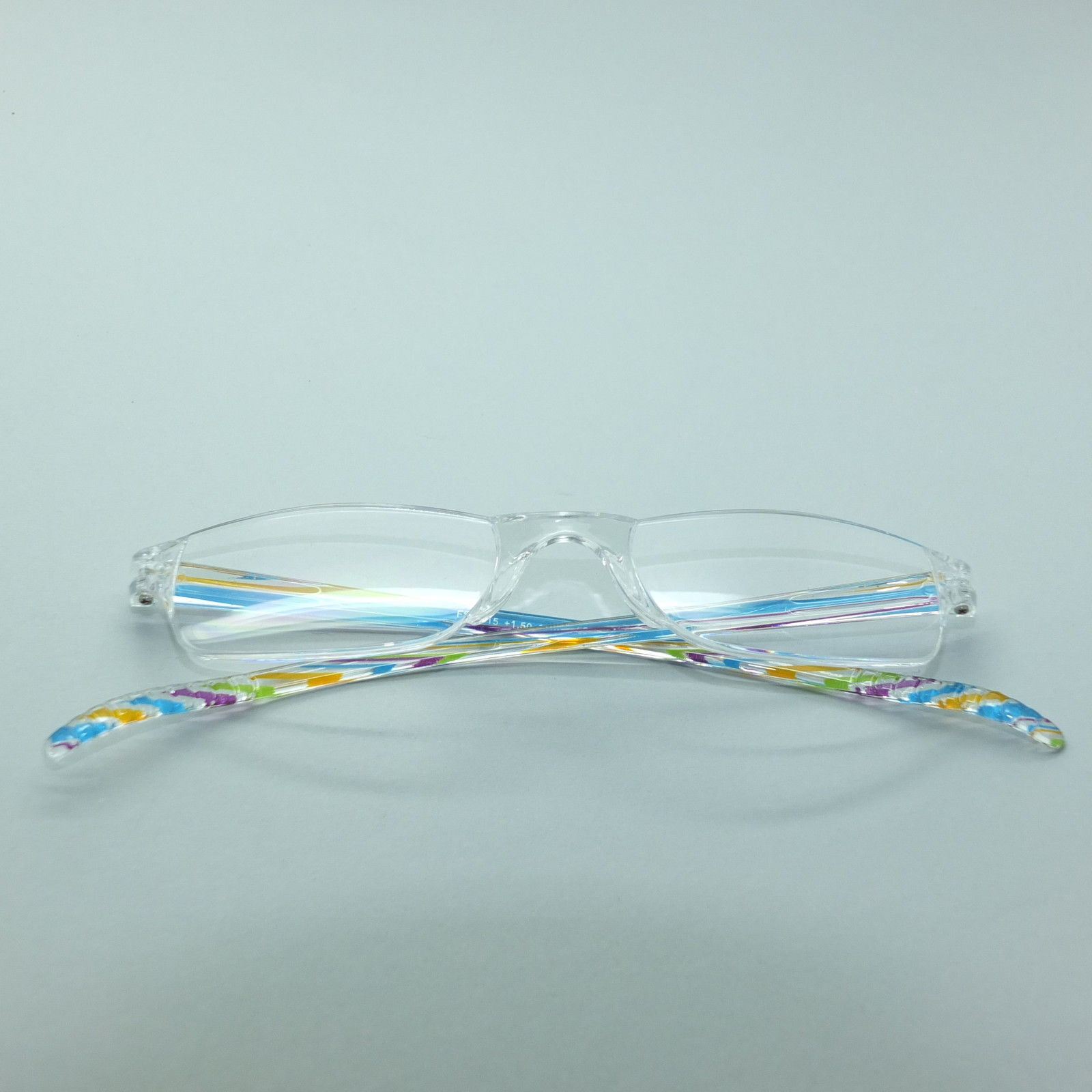 Frameless Invisible Length Multi Color Trim Petite Reading Glasses +1.50 image 4