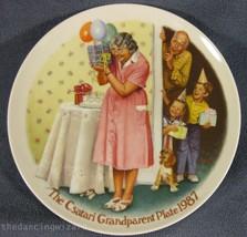 The Sneak Preview Joseph Csatari Grandparent Collector Plate 1987 COA Vi... - $17.95