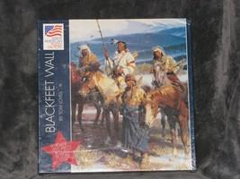 Great American Puzzle Factory Blackfeet Wall Tom Lovell 550 Piece Jigsaw NEW - $69.29
