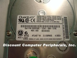 Quantum QM34500TD-SCA TD45J 4.5GB SCSI 80PIN Drive 26 In stock Tested Fr... - $19.55