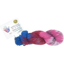 Lion Brand Wool-Ease Hand Dyed Yarn in Berry Cobbler