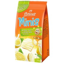 Brandt Zwieback Minis with BUTTERMILK LEMON drizzle 100g FREE SHIPPING - $8.90
