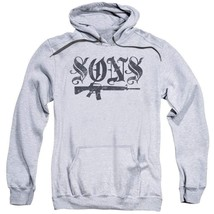 Sons of Anarchy TV crime series California adult graphic hoodie SOA160 image 1