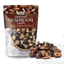 Shiitake Mushroom Crisps - Lightly Cooked and Seasoned 10.28 Ounce (10.58 Ounce) - $15.00